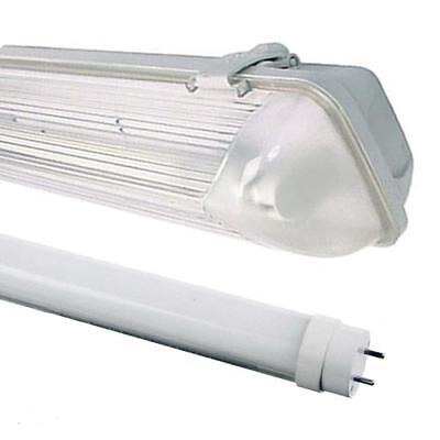4Ft Single Led Non Corrosive Light Fitting Weatherproof Ip65 Garage Strip Light