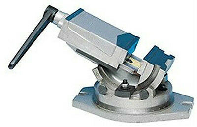 """5"""" (125mm) Angle Tilting Swivel Preceision Milling Machine Vise/Vice"""