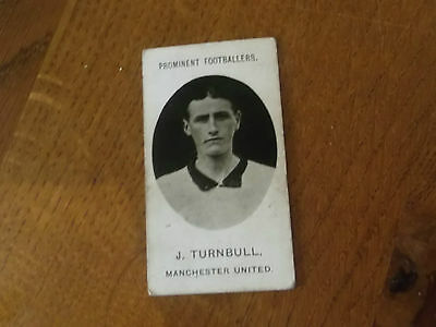 1907 Original Taddy Prominent Footballers Manchester United Player J Turnbull