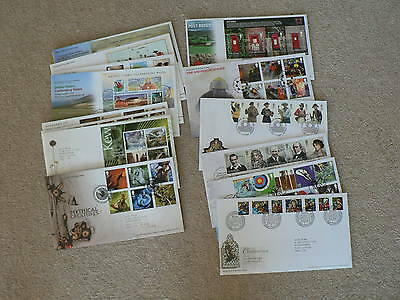 2009 Royal Mail First Day Covers - Sold Individually - Various, FDC