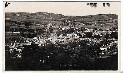 BRECON - Wales - 1948 used Real Photo postcard