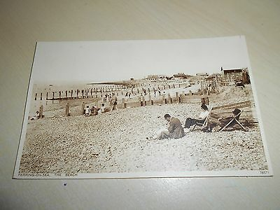 Vintage 1941 Pc - The Beach, Ferring-On-Sea, Sussex - Vgc