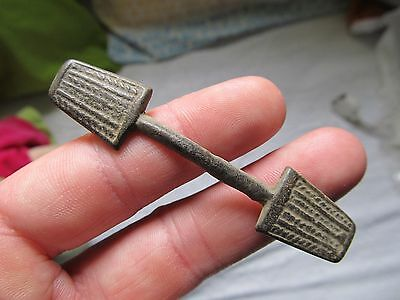 antique Spanish Medieval Crusaders Colonial Brooch Pin Layer or Fibula 15-16th