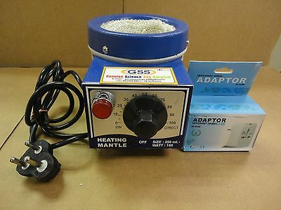 GSS Heating Mantle 250mL 220V with adapter