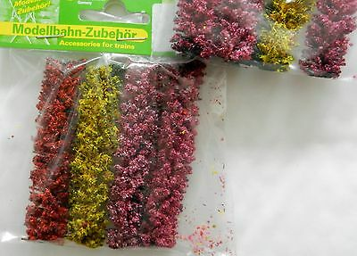 Flowering Flexible Hedging ~ Scenery For Model Rail ~ N Scale, Brand New J10A