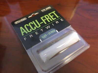 "New - Dunlop Accu-Fret 2-5/8"" Jumbo Fret Wire Set (24) #6105"