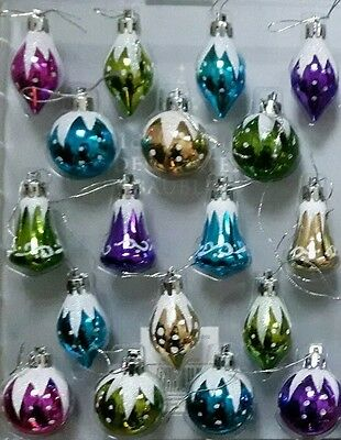 18 New Traditional Style Nordic Christmas Tree Bauble Decoratons