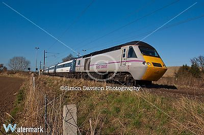 6x4 Photo East Coast Trains 43295 at Butterwell Junction