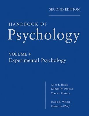 Handbook of Psychology Experimental Psychology 2nd Revised edition Brand Wiley