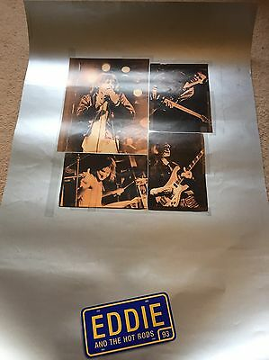 Eddie And The Hot Rods, Promotional Poster, Punk, New Wave,