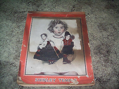 Shirley Temple vintage writing tablet