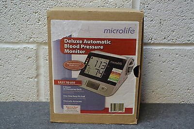 Microlife Deluxe Automatic Blood Pressure Monitor