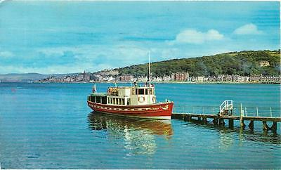"Rothesay - The ""gay Queen"", Bute - Postcard."