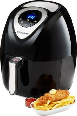 Andrew James Digital Hot Air Fryer Healthy Low Fat Oil Free Frying Cooker 3.2L