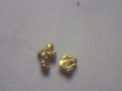 .046 and .048 22ct Natural Pure Scottish gold nugget ,