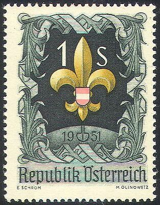 Austria 1951 Scouts/Jamboree/Scouting/Youth/Leisure 1v (n42044)