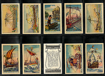 "Murray 1940 Interesting ( Shipping ) Full 50 Card Set "" The Story Of Ships """