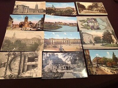 12 Cartes Postales Cpa Toulouse Lot 2