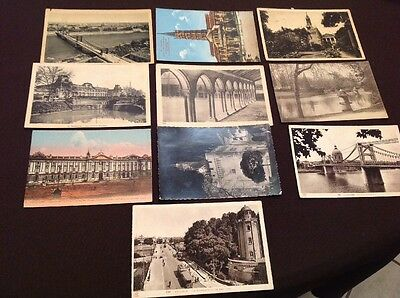 10 Cartes Postales Cpa Toulouse Lot 1