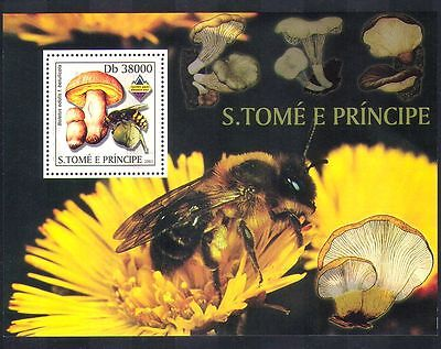 Sao Tome 2003 Wasp/Bee/Insects/Fungi/Mushroom/Scout Jamboree 1v m/s (n36982)