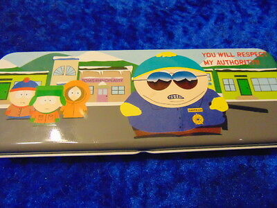 South Park Pencil Case So Colourful & Great Condition'You Will Respect My Author