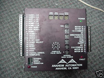 Anaheim Automation Dpd72211 Multi Axis Stepper Control