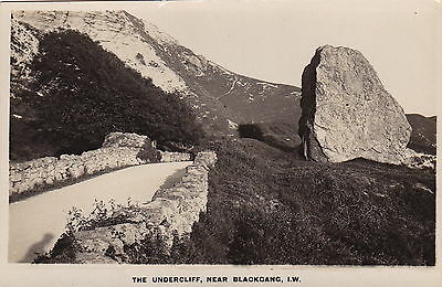 Topographical: British - England - Isle of Wight - THE UNDERCLIFF -(F574)