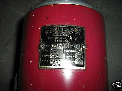 Eastman Drilling And Marking Machine Type Cd Tested Works Fine!!