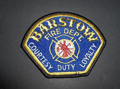 California - Barstow Fire Department Patch