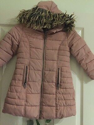 Girls Next Coat Aged 4 Years