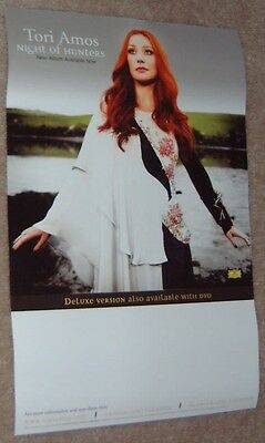 TORI AMOS poster  - NIGHT OF HUNTERS  - promo poster - 11 x 17 inches