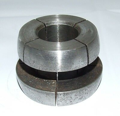 "FMC SPLIT COLLET ADAPTER for BRAKE LATHES  WITH  1"" Arbor Ammco RELS AccuTurn"