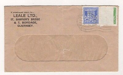 Guernsey German Occupation Covers Used Twice / Re-Used