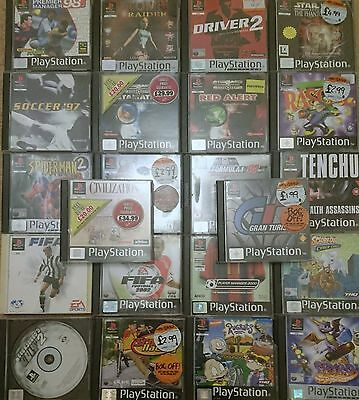 PS1 Games (also works on PS2) x 22 Job Bundle
