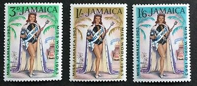 Jamaica  Miss World 1963 SG214/6  Unmounted Mint (See Scan)