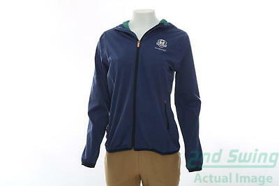 New Womens Adidas 2016 Ryder Cup Climastorm Jacket X-Small XS Purple MSRP $95