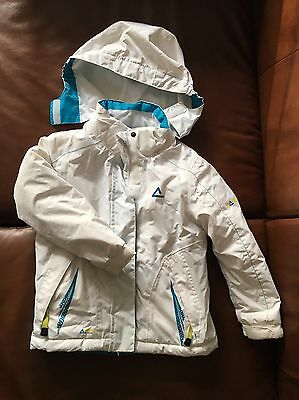 White, Winter, Skiing Jacket For 3 To 4 Years Old
