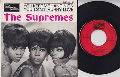 The SUPREMES * You Keep Me Hangin' On * 1964 French EP * MOTOWN NORTHERN SOUL *