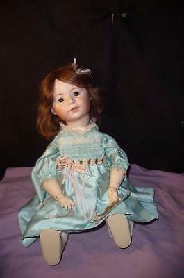 "Antique Simon & Halbig 1488 Reproduction ""child Doll"" Gorgeous Bisque Face"