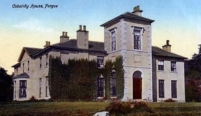 Old Scottish Postcard Cobairdy House, Forgue, Huntly Aberdeen  C1910  Mcconachie