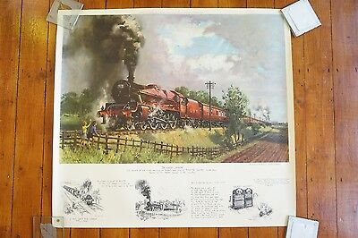 1968 LMS The Lickley Incline Railway Print Poster