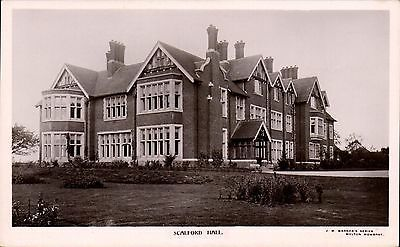 Scalford Hall by J.W.Warner, The Library, Melton Mowbray.
