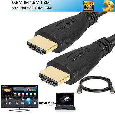 PREMIUM HDMI 4K CABLE 1.4cm For BLURAY 3D DVD PS3 HDTV XBOX LCD HD TV lot