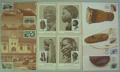 SOUTH WEST AFRICA SWA 1983/1985 MAXICARDS (x6 SETS) (ID:677/D43570)