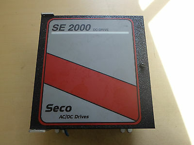 SECO DC DRIVE 2 HP SE 2000 Warner Electric