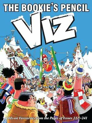 The Bookies Pencil: Viz Annual 2017 by Viz Book The Cheap Fast Free Post