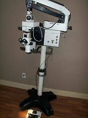 Leica M-500 M500 Surgical Operating Microscope System