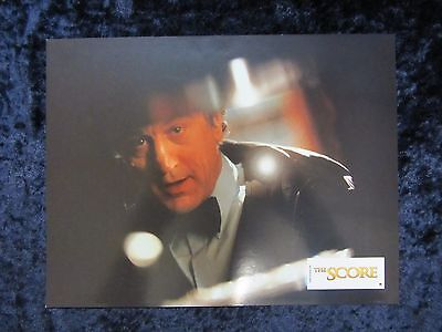 THE SCORE  lobby card ROBERT DE NIRO