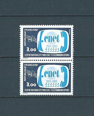 FRANCE - 1984 YT 2317 paire - TIMBRES NEUFS** LUXE