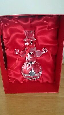 Galway living crystal snowman new in box